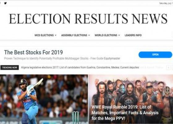 Election Results News